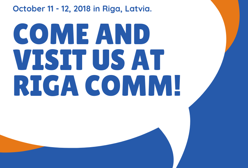 Riga Comm 2018 BUTECH